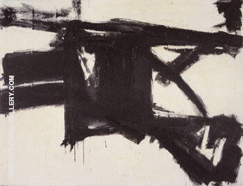 Untitled 1957 By Franz Kline