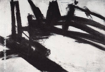 Untitled 1957 2 By Franz Kline