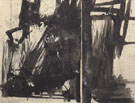 Study for Cupola final state 1960 By Franz Kline
