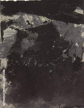 Study for Requiem 1958 By Franz Kline