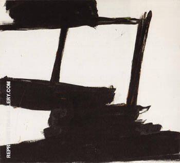 Black and Green 1959 By Franz Kline