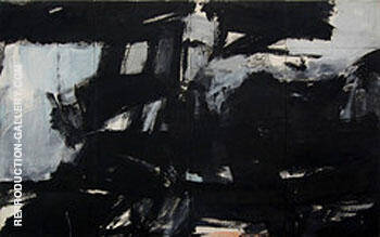 New Year Wall Night 1960 By Franz Kline