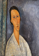 Madame Zborowska 1918 By Amedeo Modigliani