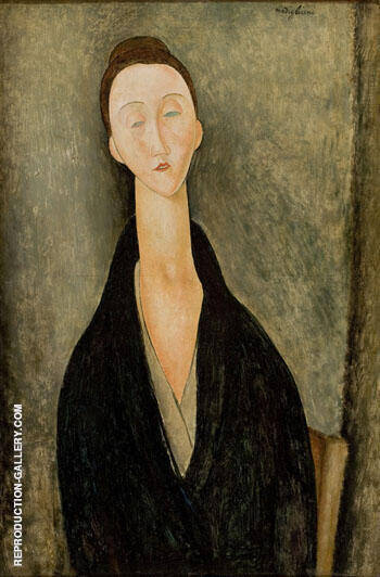 Madame Zborowska 1918 By Amedeo Modigliani