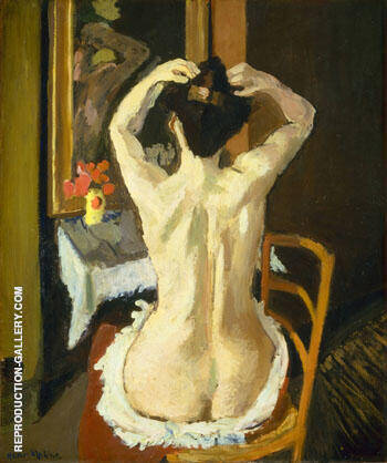La Coiffure 1901 By Henri Matisse - Oil Paintings & Art Reproductions - Reproduction Gallery