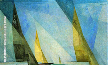 Sail Boats 1929 By Lyonel Feininger