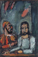Christ and the High Priest By George Rouault