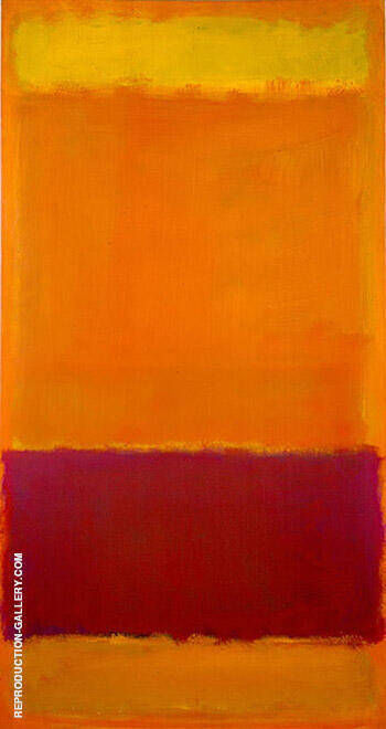 No 73 1952 By Mark Rothko