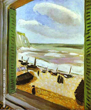 Open Window at Collioure 1905 2 By Henri Matisse - Oil Paintings & Art Reproductions - Reproduction Gallery