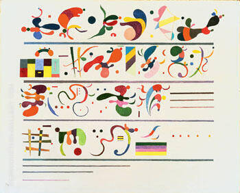 Succession 1935 By Wassily Kandinsky - Oil Paintings & Art Reproductions - Reproduction Gallery