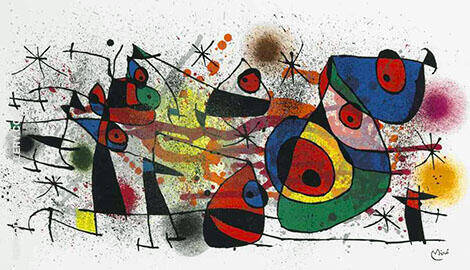 Ceramiques 1974 By Joan Miro Replica Paintings on Canvas - Reproduction Gallery
