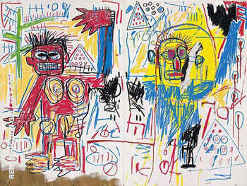 Untitled 1982 2 By Jean-Michel-Basquiat