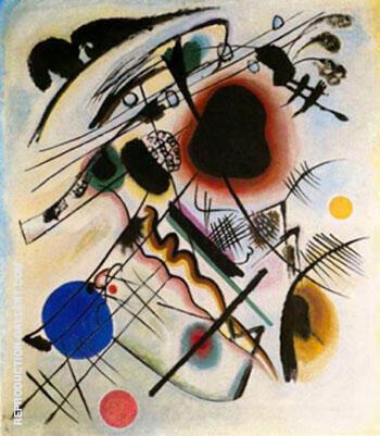 Schwarzer Fleck, 1921 By Wassily Kandinsky