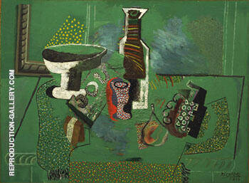 Green Still Life 1914 Painting By Pablo Picasso - Reproduction Gallery
