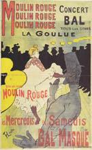 Moulin Rouge La Goulue 1891 By Henri De Toulouse-lautrec