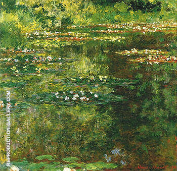 Water Lilies 1904_667 By Claude Monet - Oil Paintings & Art Reproductions - Reproduction Gallery