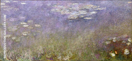 Reproduction of Water Lilies 104 by Claude Monet | Oil Painting Replica On CanvasReproduction Gallery