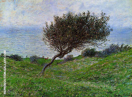 Seacoast at Trouville 1881 By Claude Monet
