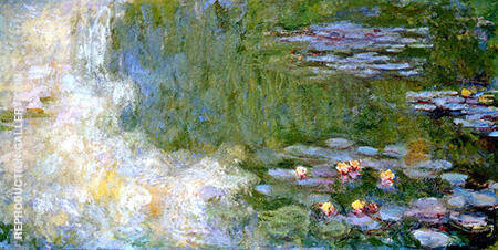 The Water Lily Pond 1917 By Claude Monet