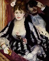 La Loge 1874 By Pierre Auguste Renoir