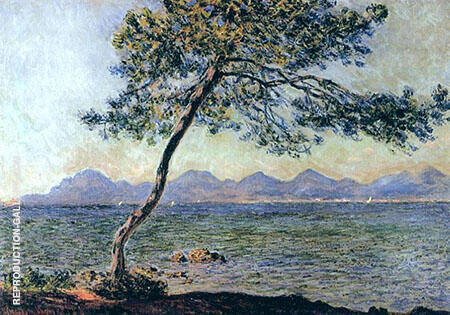 At Cap d'Antibes1888 By Claude Monet
