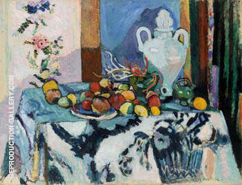 Blue Still Life Nature Morte Bleue 1907 By Henri Matisse