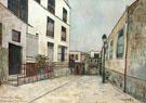 Impasse Trainee, Montmartre c1931 By Maurice Utrillo