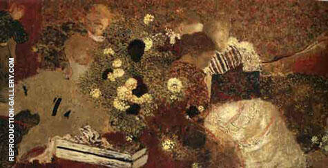 Album 1895 Painting By Edouard Vuillard - Reproduction Gallery