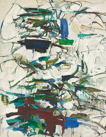 Mont St. Hilaire 1956 By Joan Mitchell