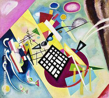 Reproduction of Black Grid 1922 by Wassily Kandinsky | Oil Painting Replica On CanvasReproduction Gallery