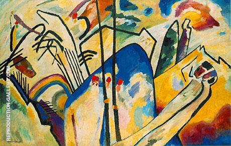 Composition IV 1911 Painting By Wassily Kandinsky - Reproduction Gallery