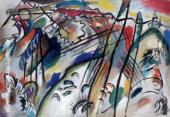 Improvisation 28 second version 1912 By Wassily Kandinsky