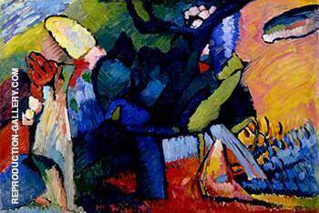 Improvisation 4 1909 By Wassily Kandinsky - Oil Paintings & Art Reproductions - Reproduction Gallery