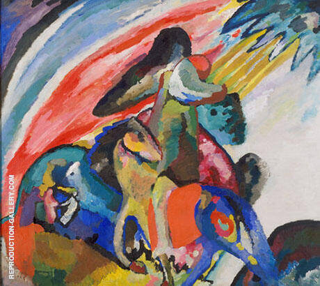 Improvisation 12 1910 Painting By Wassily Kandinsky - Reproduction Gallery