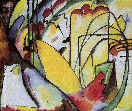 Improvisation 10 1910 By Wassily Kandinsky Replica Paintings on Canvas - Reproduction Gallery