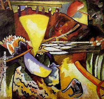 Improvisation 11 1910 By Wassily Kandinsky
