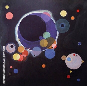 Several Circles 1926 Painting By Wassily Kandinsky - Reproduction Gallery
