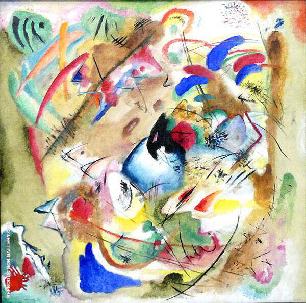 Improvisation Dreamy 1913 By Wassily Kandinsky