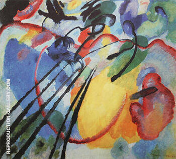 Improvisation 26 Rowing 1912 By Wassily Kandinsky