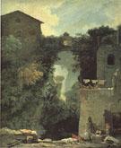 The Grand Cascade at Tivoli 1760 By Jean Honore Fragonard