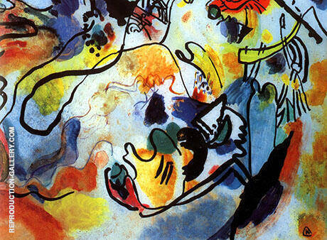 Last Judgment 1912 By Wassily Kandinsky - Oil Paintings & Art Reproductions - Reproduction Gallery