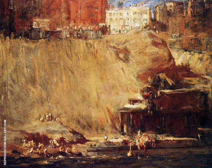 River Rats 1906 By George Bellows