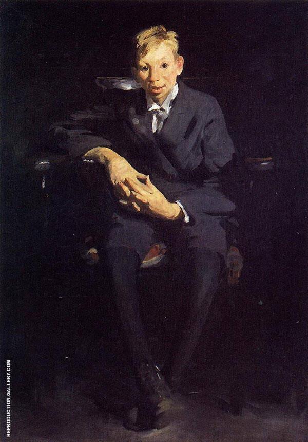 Frankie the Organ Boy 1907 By George Bellows