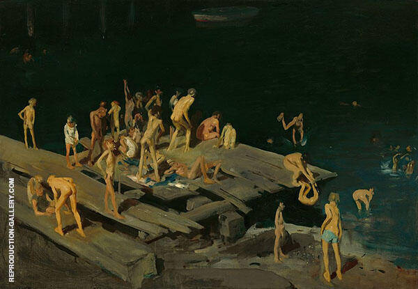 Forty Two Kids 1907 By George Bellows
