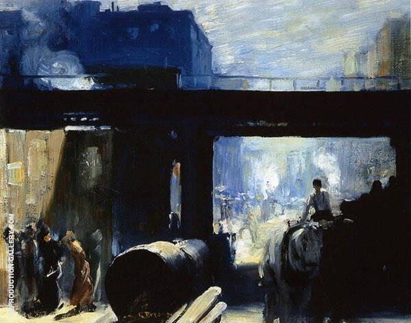 Noon 1908 Painting By George Bellows - Reproduction Gallery
