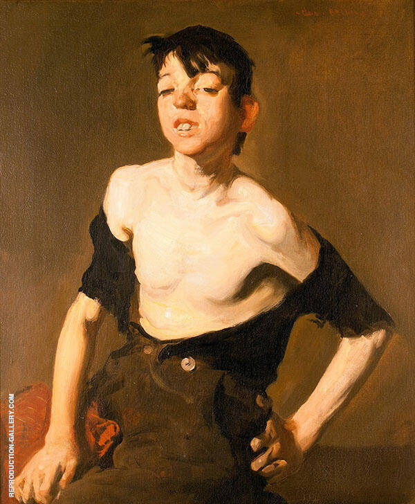 Paddy Flannigan 1908 Painting By George Bellows - Reproduction Gallery