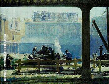 Blue Morning 1909 By George Bellows