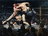 Stag at Sharkeys 1909 By George Bellows