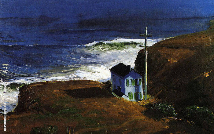 Mountain House 1920 Painting By George Bellows - Reproduction Gallery