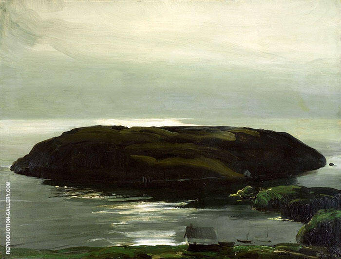 An Island in the Sea 1911 By George Bellows